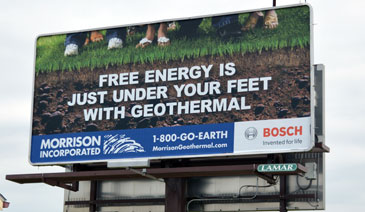 Morrison Geothermal Billboard